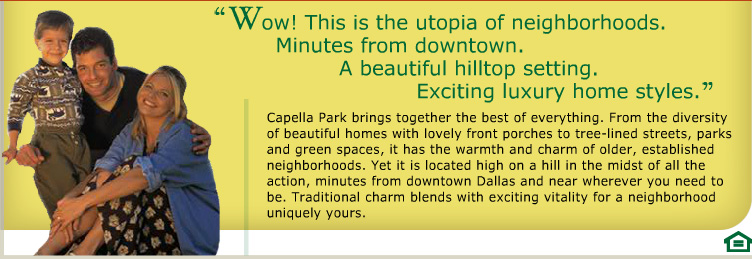 Capella Park Neighborhood