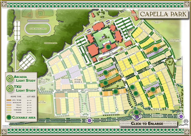 Dallas master planned community new urbanism capella for New urbanism house plans